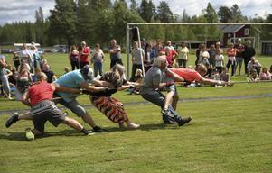 Förra året var det mästerskap i dragkamp i Los och det står på schemat även i år.