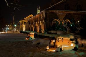 Trettondagsafton i Västerås var stjärnklar, iskall och med massor av knarrande snö.