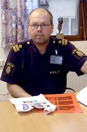 Falska uppgifter. –Det handlar om ren och skär främlingsfientlig propaganda utan grund av krafter som bara är ute efter att skapa oro i samhället, säger Thomas Jäderqvist vid Lindesbergspolisen.