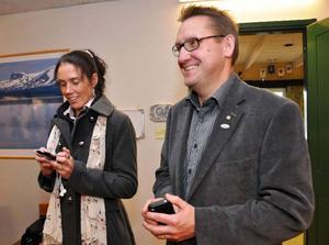 För Västjämtlands Väls Maria Kjellström och Mikael Sundman hade det inte kunnat bli bättre, de har stoppat vindkraft i Moskogen, och fått full utdelning för sina fem mandat.