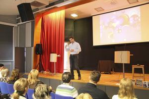 Anders Pommer var en av föreläsarna under dagen.