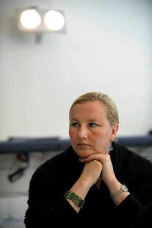 Den moderatledda regeringen anklagar genom handelsminister Ewa Björling för nyprotektionism. Hon skjuter över målet. Oenigheten mellan blocken nu gäller vilka stimulanser krisen kräver.  Foto: Scanpix