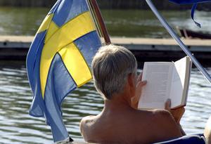Sverige är ett attraktivt resmål för många som vill byta bostad på semestern. Familjen Johansson får många förfrågningar.   Foto: Hasse Holmberg/TT