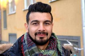 Raad Al-Duhan var nominerad till Årets Eldsjäl men deltog i stället på Eldklotsgalan i Gävle.