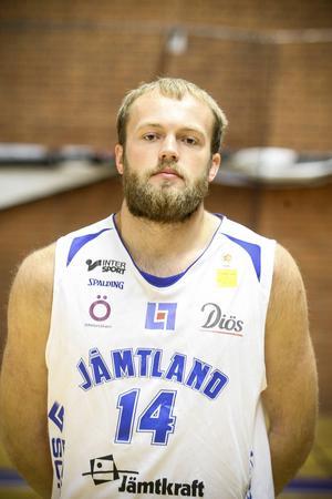 Trevor Gruis, center, 23 år. 206 cm.