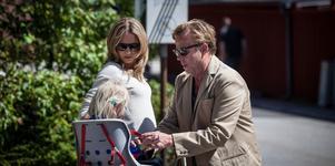 """Charlotta Jonsson och Krister Henriksson i """"Wallander – Den orolige mannen""""."""