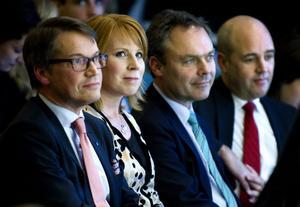 Göran Hägglund (KD) och Annie Lööf (C) vill ha en översyn av regelverket. Men ännu är det osäkert hur Jan Björklund (FP och Fredrik Reinfeldt (M) ser på saken.