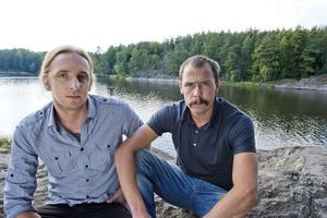 Martin Schibbye och Johan Persson kommer till Norrtälje.