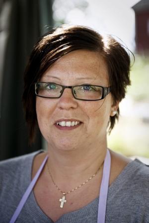 """Ann-Sofie Björklund, 34 år, Kumla:–Psalm 23, """" Herren är min herde, ingenting skall fattas mig ...""""."""