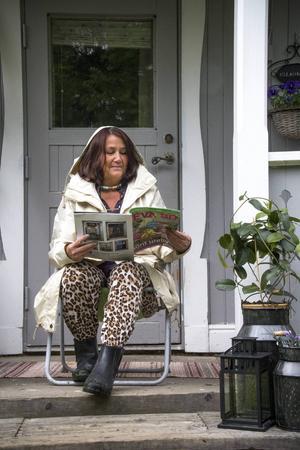 Ulla Palm vill helst att solen skiner. När hon är ledig läser hon för att koppla av. I september väntar en efterlängtad solvecka i södra Europa.