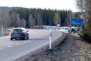 Vägbygget blir av det större slaget – sträckan mellan Fagersta och Ludvika är 44 kilometer lång.