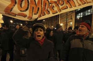 Ständiga protester. Demonstrationerna avlöser varandra i Grekland, men deltagarna har lättare att säga nej än att visa på egna alternativ för hur krisen ska lösas.foto: scanpix