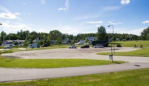 Platsen där Sibylla ska byggas ligger mittemot Postnord.