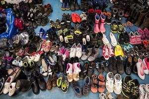 Interiörer från ett ankomstboende. När människorna fyller upp skorna blir de ett nödvändigt tillskott våra kommuner.