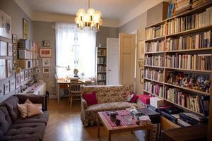 Astrid Lindgren bodde på Dalagatan 46 från 1941 fram till sin död 2002.