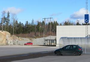 I kurvan på Krankroksgatan kommer Kofotsgatan att anslutas.