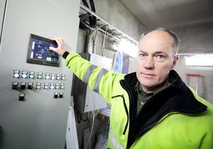 De nya moderna kraftverket kan fjärrstyras via en mobiltelefon.