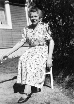 Selma Nyström blev 66 år.