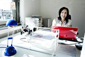 Lollo Armgren använde den första tiden efter Ericsson till att utbilda sig. Nu har hon en provanställning som övergår i en fast anställning nästa månad.
