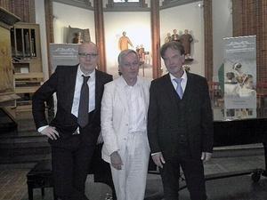 Från vänster Johan Fröst,  Anders Olsson och Olle Persson. Foto: Anna-Maria Nilsson.