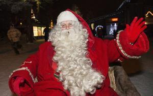 Den moderna sinnebilden av den klassiska jultomten.