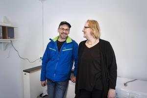 Jan Pulkkinen och Ulrika Pulkkinen startar i april Söråkers fisk.