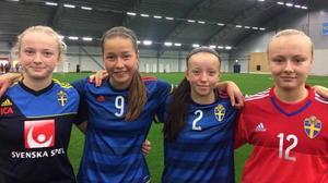 Emma Engström, landslagsaktuell fotbollsspelare fostrad i Barkarö SK.