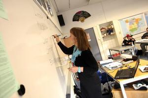 En önskan från Lena Eriksson är att det skulle finnas mer tid till att planera kreativ undervisning i skolan.