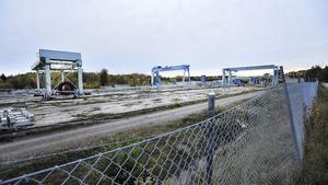 Strängbetongs tidigare fabrik i Nykvarn. Fotograf: Christina Hjalmarsson