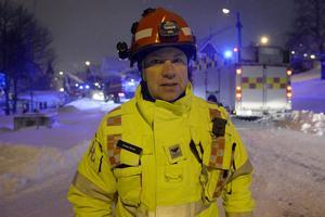 Anders Bonér, räddningsledare.