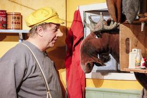 Så här såg det ut när Trollet med gula kepsen firade jul vännerna i Ljusdal förra året.