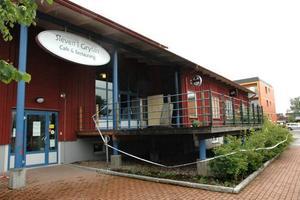STÄNGT. Restaurang Sleven i Grytan beräknas hålla stängt under hela juli på grund av omfattande rökskador.