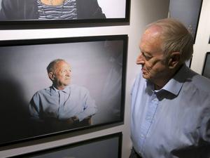 Göran Johansson, 82, är representerad på fem bilder i utställningen.