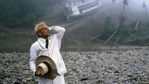 Klaus Kinski som Fitzcarraldo i filmen med samma namn från 1982.