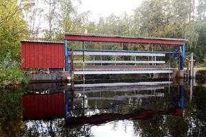 Dammen vid kraftverket har funnits i över 130 år.
