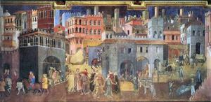 Italiensk medeltid.