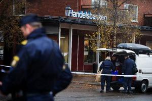Polisen tror sig veta vilka som låg bakom rånet mot Handelsbanken i Åre förra hösten. Men troligen kommer ingen att kunna fällas för brottet då utredningen blivit förstörd av en kvinnlig polis i Stockholm.Foto: Lars-Eje Lyrefelt