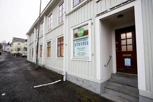 Här på Ludvig Nordströms gata flyttar Migrationsverket in med sin verksamhet. Det betyder tio nya arbetstillfällen i Härnösand.