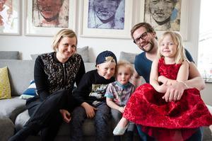 Anna, Pelle, Nils, Tyra och Andreas Thunmarker blev mycket goda vänner med Basir Sharifi som sökte asyl i Sverige men skickades tillbaka till Afghanistan.