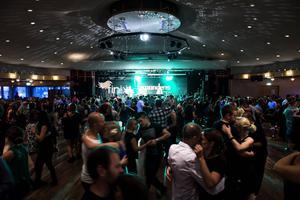 Ungefär 2000 personer besökte dansmaran under helgen.