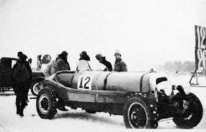 Racerbil modell 30-talet.