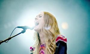 Johanna Söderberg live på Way Out West 2012.   Foto: Adam Ihse/AP/TT