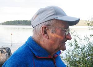Olov-Hugo Johansson, legendarisk högerhalv i Herrö IF.