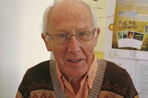 Gillbert Fernström, 81 år, pensionär, Hofors:– Man gillar inte det här med invandring.