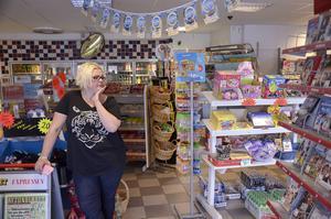 Maria Eliasson, butikschef.