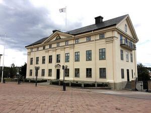 Landshövdingens residens i Härnösand.