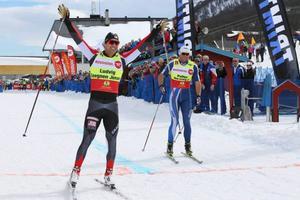 Segraren Ludvig Jensen slog ut Petter Northug i semifinal.