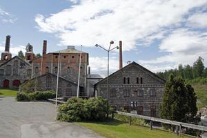 Carola Nyström har spenderat många dagar på Iggesunds järnverk, då hennes far jobbade och nu när hon själv forskat i historien.