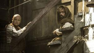 Varys och Tyrion.