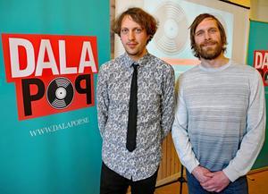 Pelle Andersson och Daniel Olsson är verksamhetsledare för Dalapop.